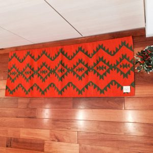 KITCHEN MAT AZTEC ORANGE