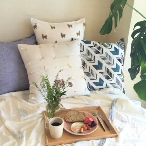 COTTON CUSHION COVER FRINGE