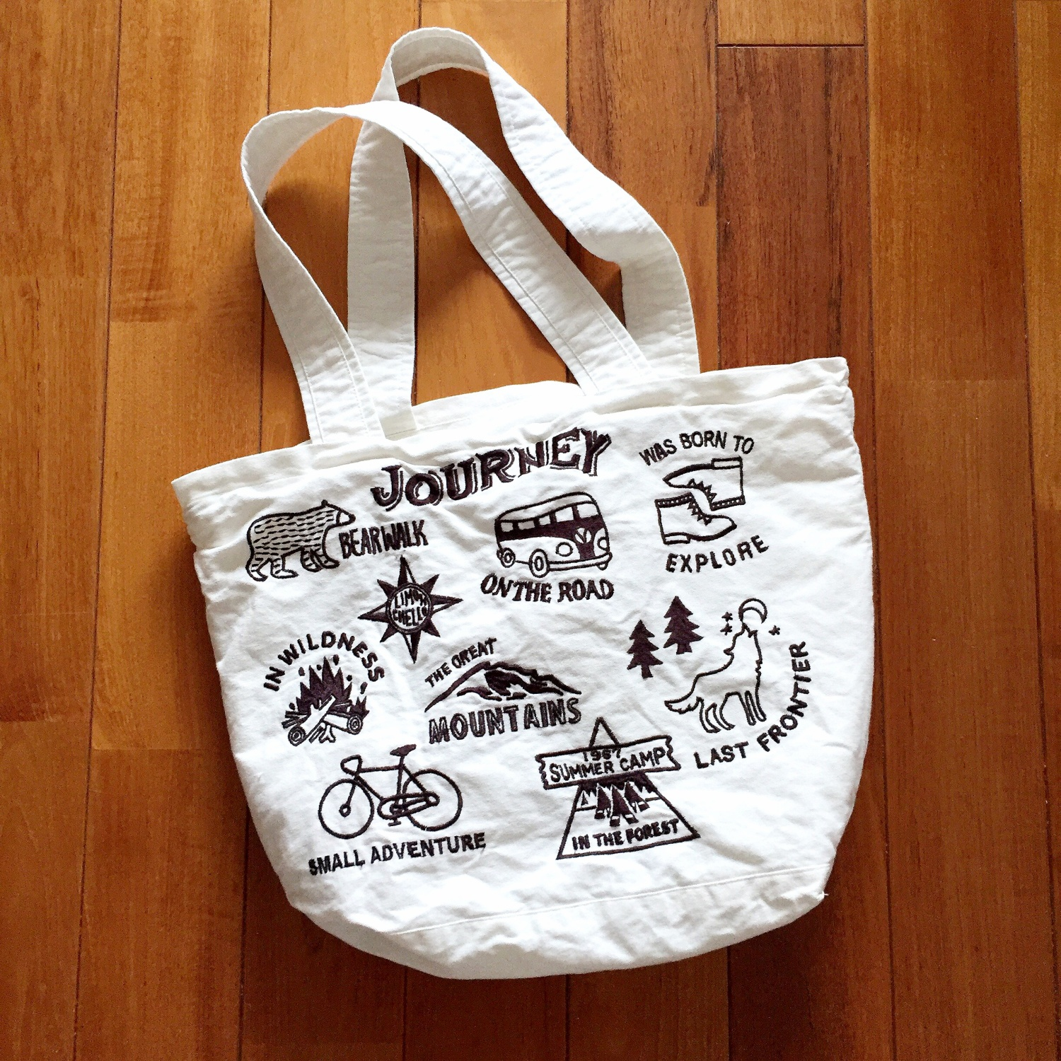 JOURNEY TOTE NATURAL