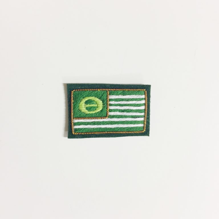 HAND EMBROIDERY BADGE