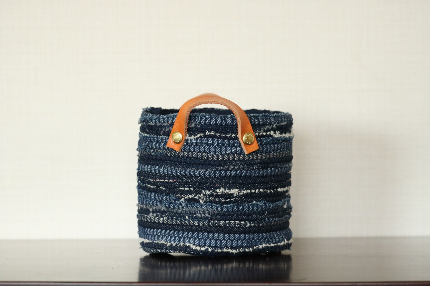<New> BUCKET S (INDIGO DENIM / BLEACH DENIM)