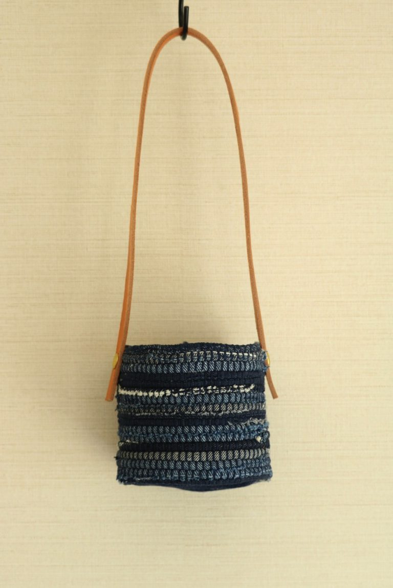 DENIM HANGING BUCKET