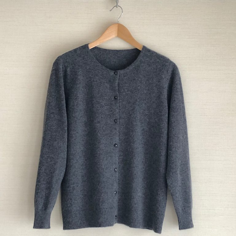 CASHMERE KNIT CARDIGAN