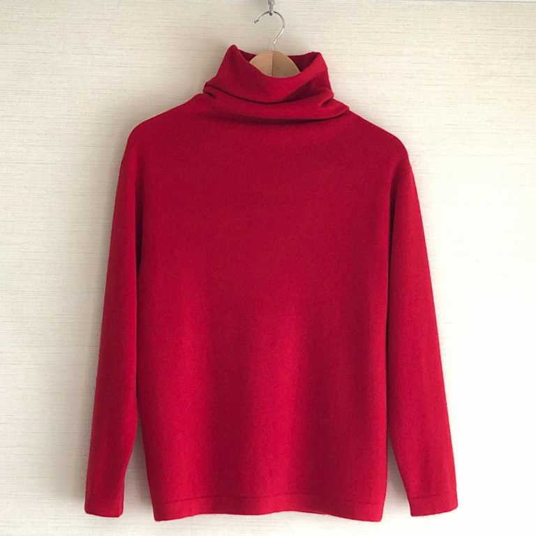 CASHMERE KNIT PULLOVER