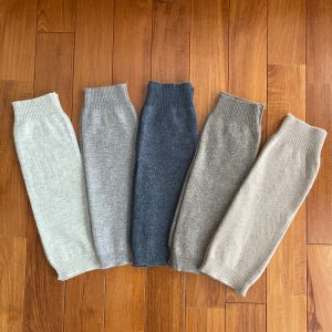 CASHMERE WOOL MIX LEG WARMER
