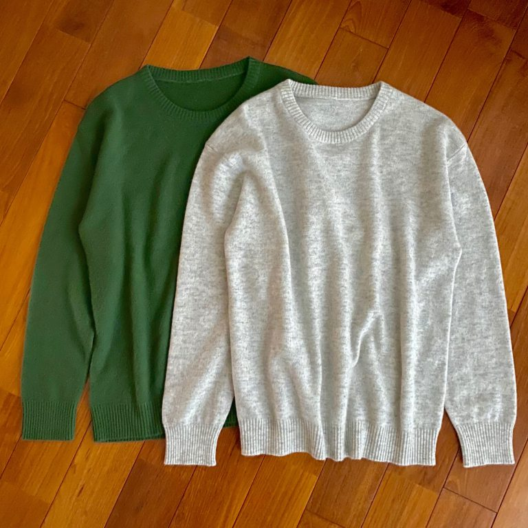 CASHMERE KNIT CREW NECK